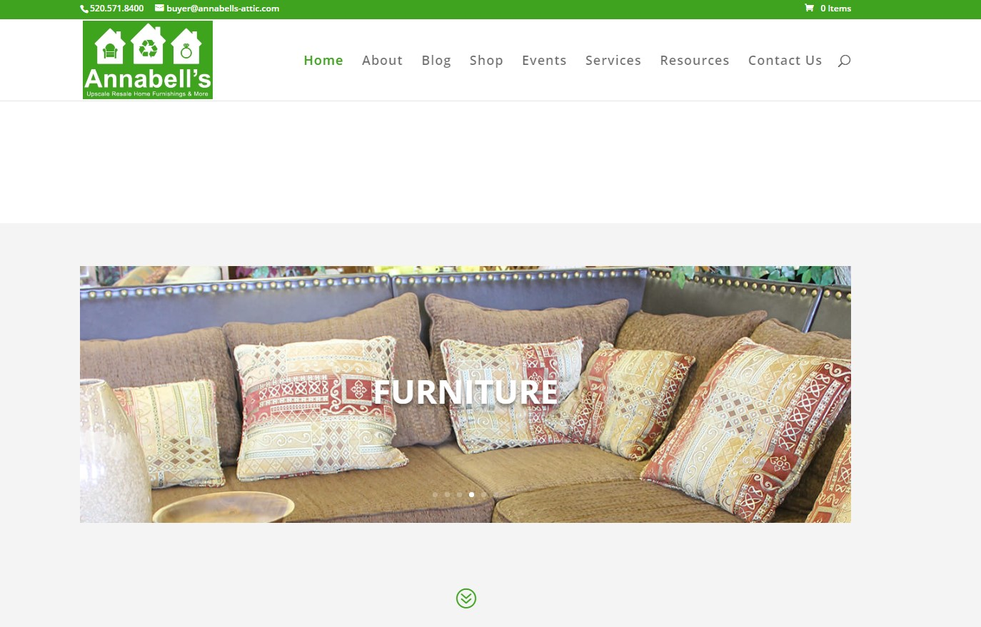 Annabell's Attic home page