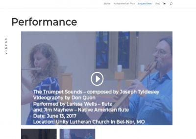 St Louis Native Flute videos