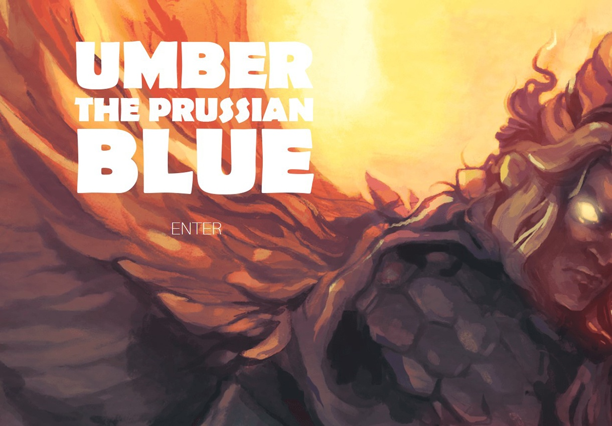 Umber the Prussian Blue home page