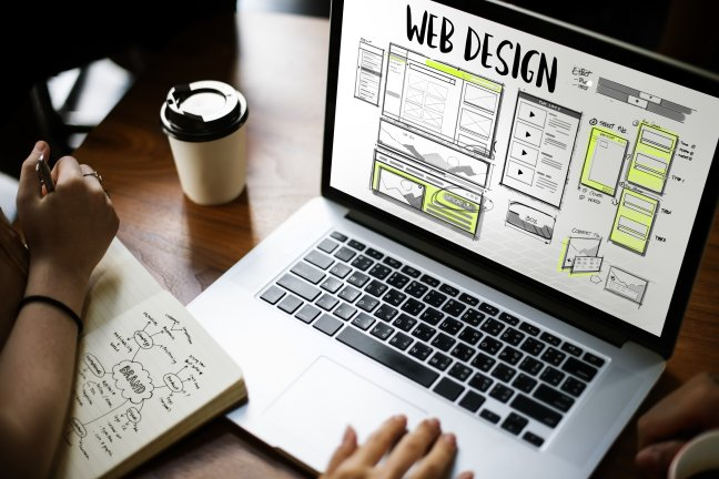 rethink your website graphic