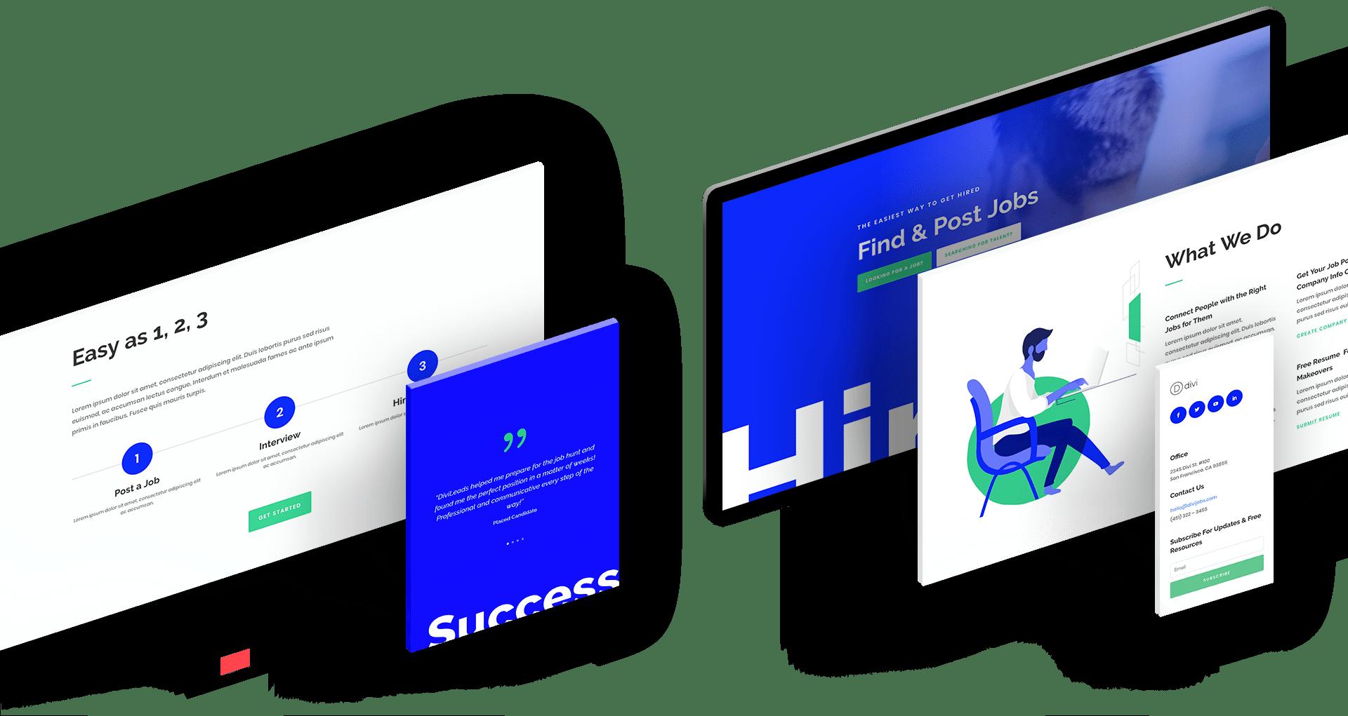 creating websites web design